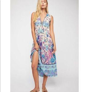 Spell Design Siren Song midi dress. Size XS.